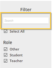 Search Filter